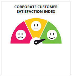 corporate customers satisfaction from computer institutes